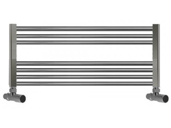 1000mm Wide 400mm High Heated Towel Rail Chrome