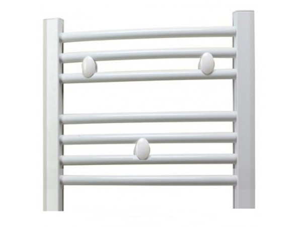 Black 400mm Towel Radiator: 300mm Wide 400mm High Heated Towel Rail White
