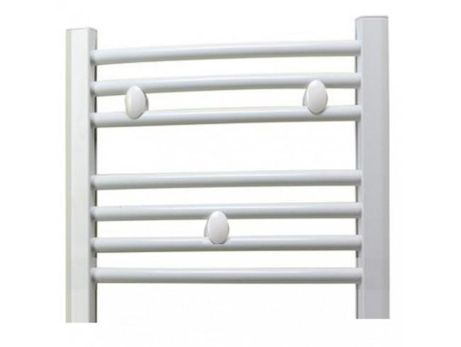 Black 400mm Towel Radiator: 450mm Wide 400mm High Towel Radiator White