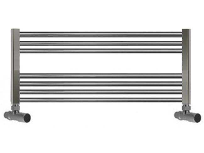 950mm Wide 400mm High Towel Radiator Chrome