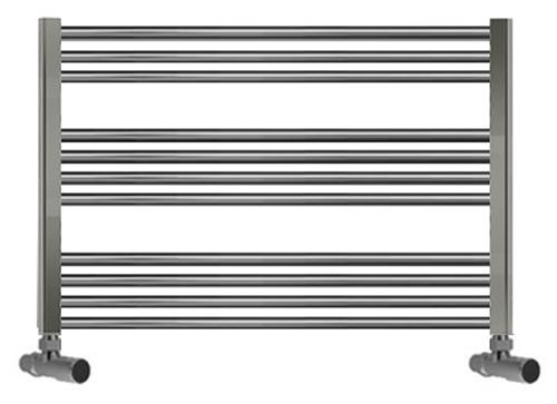 Black 400mm Towel Radiator: 1300mm Wide 400mm High Towel Radiator Chrome