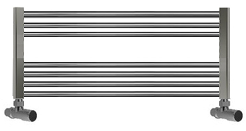 850mm Wide Heated Towel Rail